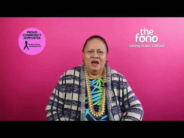 The Fono | Paepaefoa Satele | Breast Cancer Survivor story | English
