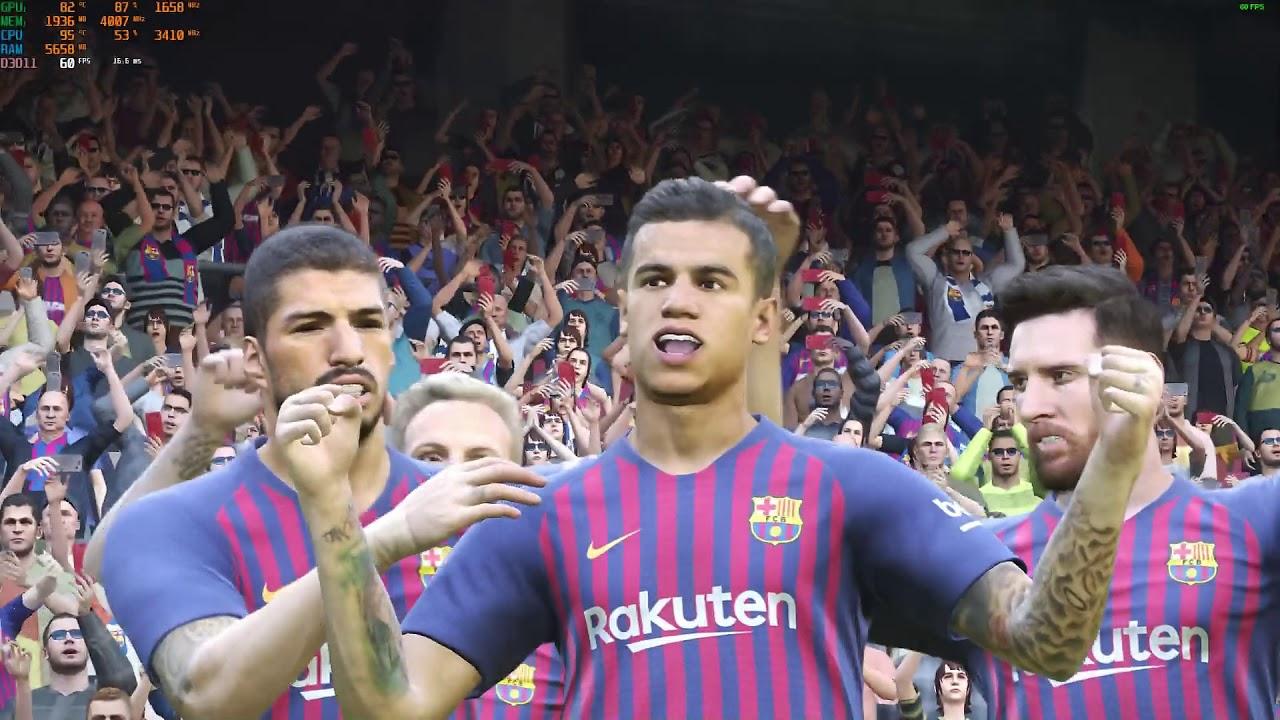 Pro Evolution Soccer 2019 Demo Version With GL62MVR 7RFX-1056XID