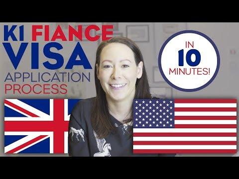 K1 Fiance Visa Application Process Under 10 Minutes!