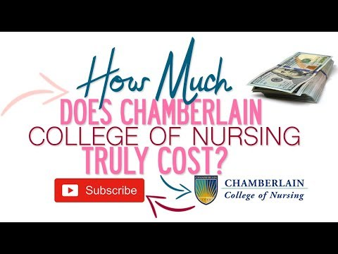 How Much Is Nursing School Tuition at Chamberlain College of Nursing?