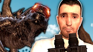 Godzilla Came After us in Gmod! - Garry's Mod Gameplay