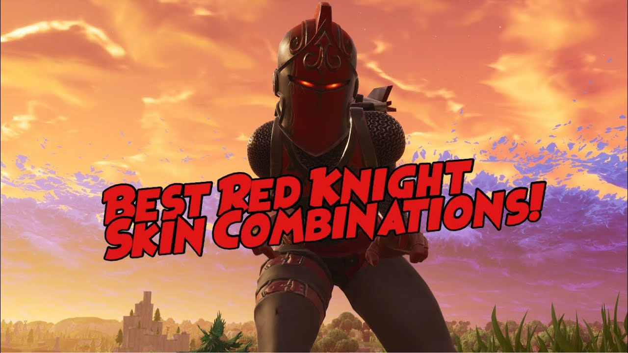 Fortnite Best Red Knight Skin Combination Youtube