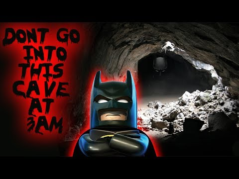 DONT GO INTO BATMANS CAVE AT 3AM I FOUND SOMETHING SURPRISING!! // 3AM CHALLENGE IN BATMAN CAVE!