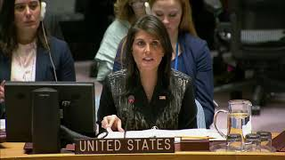 Remarks at a UN Security Council Briefing on Burma