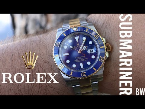 Rolex Submariner Review - 116613LB - 'Two Tone Bluesy'