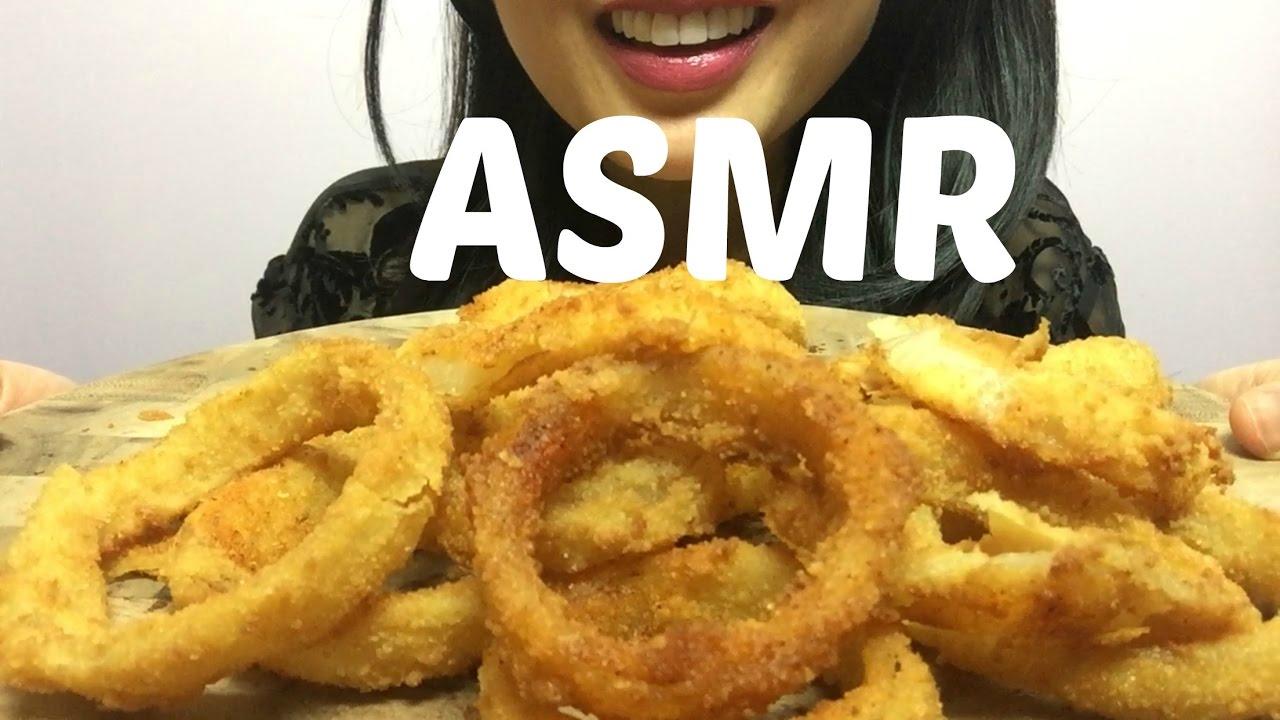 Asmr Onion Rings No Talking Extreme Crunch Eating Sound Sas Asmr