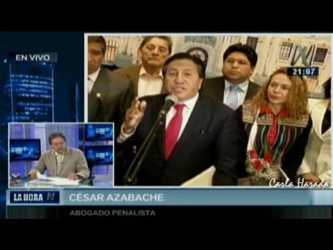 César Azabache, ex procurador anticorrupción: inexorable detención de Alejandro Toledo