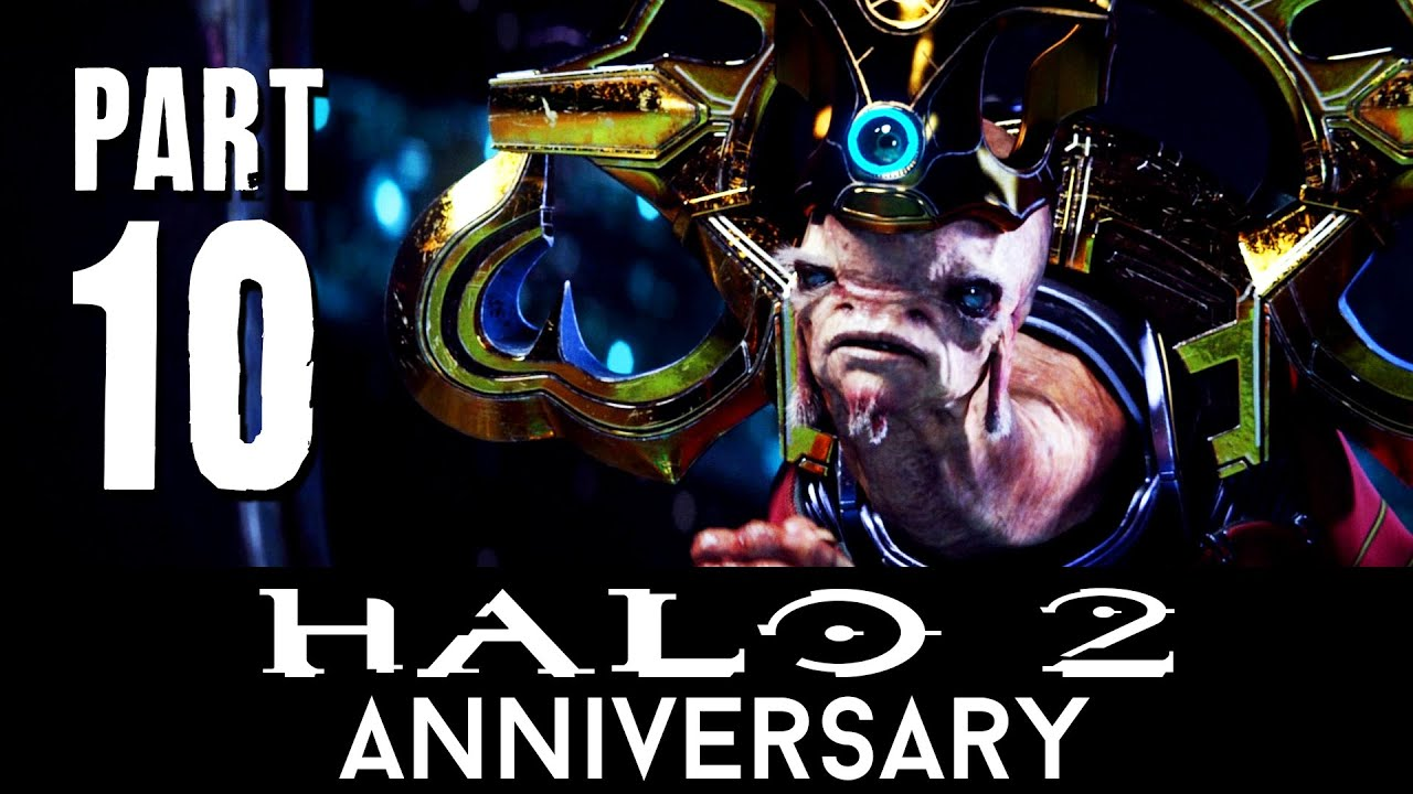 Halo 2 Anniversary Walkthrough Part 10 Sacred Icon Mission 10 Master Chief Collection 60fps