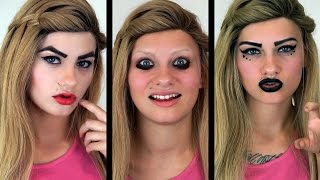 How I Used To Do My Makeup (MIDDLE & HIGHSCHOOL) | HeyThereImShannon