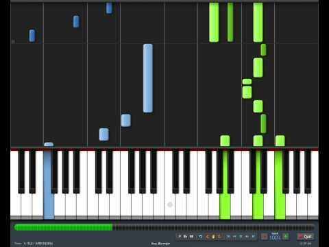 Kingdom Hearts - Hikari Piano Tutorial