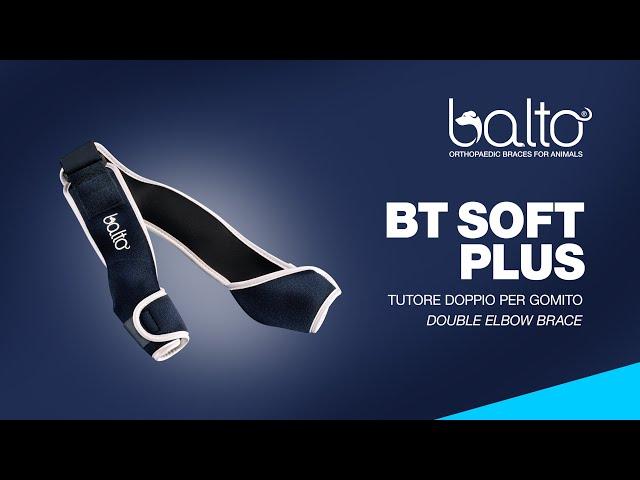BT SOFT PLUS – TUTORE PER GOMITO DOPPIO - DOUBLE ELBOW BRACE