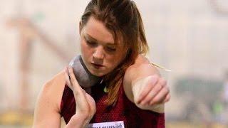 Алена Бугакова на Чемпионате России в помещении 2017