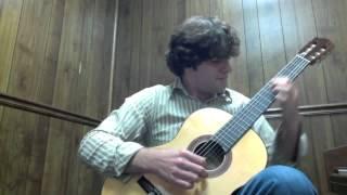 Alone Again (Dokken) on Classical Guitar - Jay Shepherd