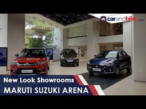 Inside Maruti Suzuki Arena New Look Showroom Ndtv Carandbike