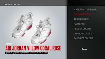 a0b86b590c22 NBA 2K19 Custom Shoes - YouTube