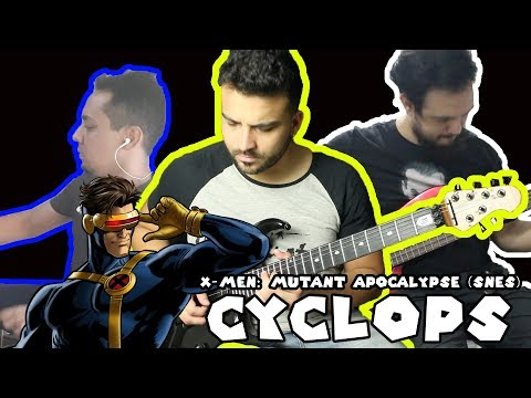 X-Men: Mutant Apocalypse - Cyclops Theme / Cover By Super Geek Music
