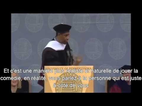 Denzel Washington Commencement Speech (sous-titrés FR)
