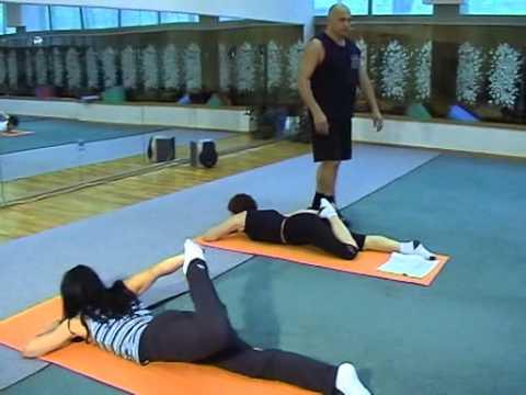 Гимнастика   Упражнения Для Позвоночника