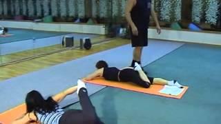 видео Гимнастика бубновского для начинающих