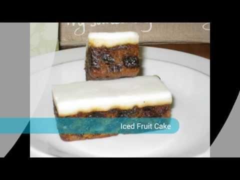 Plain Iced Fruit Cake