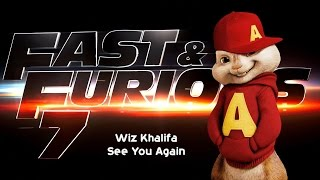 Wiz Khalifa See You Again Chipmunks Version