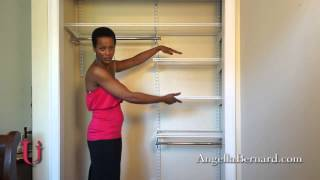 Urban Interiors Ep2 - Small Closet Organization - By Angella Bernard