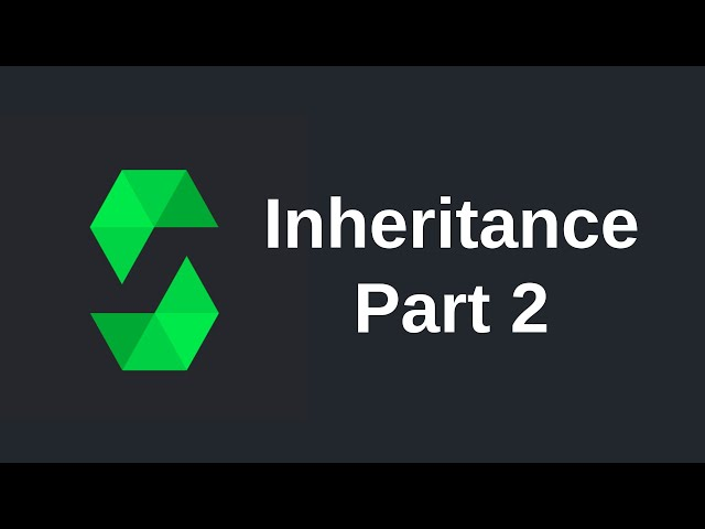 Learn Solidity (0.5) - Inheritance (part 2)
