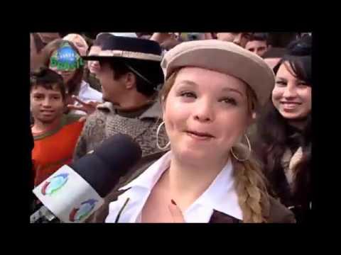 Os Laranjas: Em Porto Alegre, A Dupla Quase Congela De Frio!