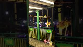 The green scream! The best ride in Southend! Kiddie ride fun!