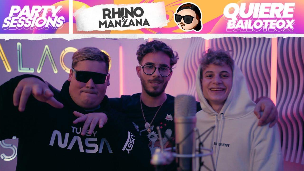 PARTY SESSIONS vol.5 | Rhino, Manzana - Quiere Bailoteo | Fer Palacio