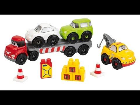 Unbox Abrick Car Transporter, Tow truck, Accessories - Full Espisode