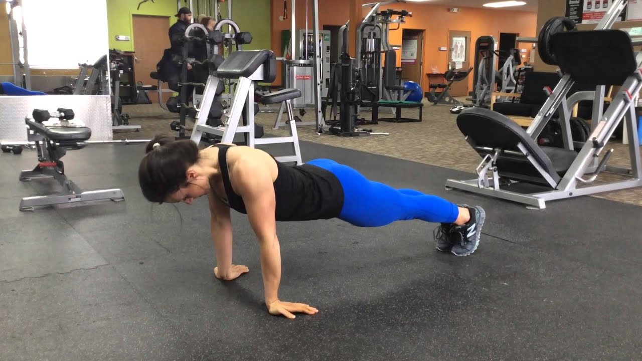 Reverse pushups for triceps 50