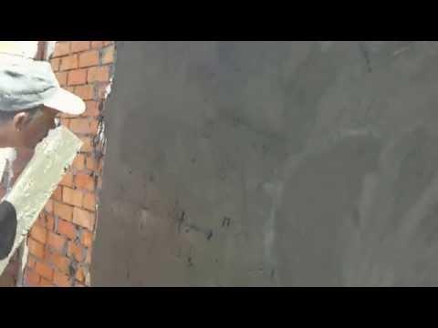 Цементно -  песчаная штукатурка