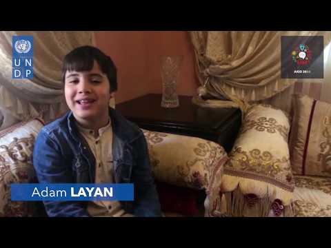 AKID2030 - Message de solidarité de Adam Layan