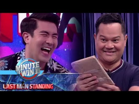 Minute To Win It: Luis, tawang tawa sa regalo sa kanya ni Bayani