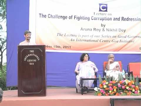 """Lecture on """"The Challenge of Fighting Corruption and Redressing Grievances"""" - Part I"""