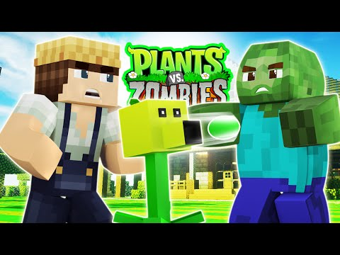 Plants vs Zombies - Garden Warfare (Minecraft Roleplay) #1