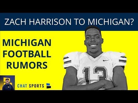 Zach Harrison Michigan-Bound? Plus, Shea Patterson Rumors ...