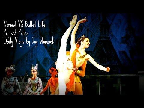 Normal vs Ballet Life