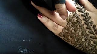 Newest Back hand Mehndi Design Simple & Beautiful Mehndi Design 2018 Back hand Mehndi Design Arabic