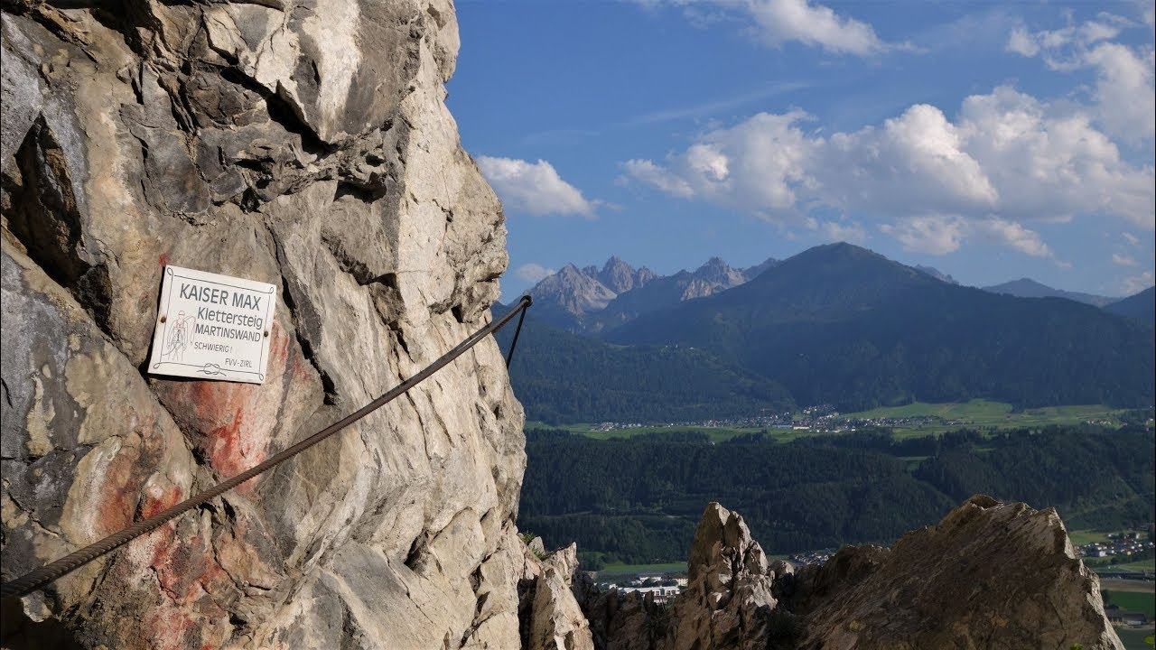 Kaiser Max Klettersteig : Klettersteige rund um innsbruck