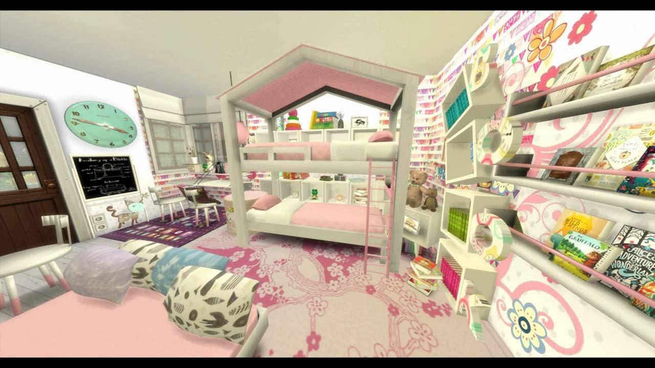 Die sims 4 let 39 s build a room kids room bauen - Kleine kinderzimmer einrichten ...