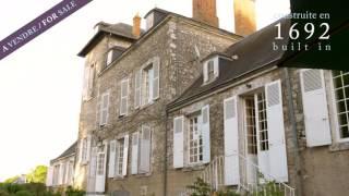 Magnifique demeure de prestige à vendre, Val-de-Loire, 500m2, 2ha, 1h30 de Paris