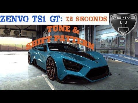 Zenvo Ts1 Gt Max Tune And Shift Pattern | Csr Racing 2