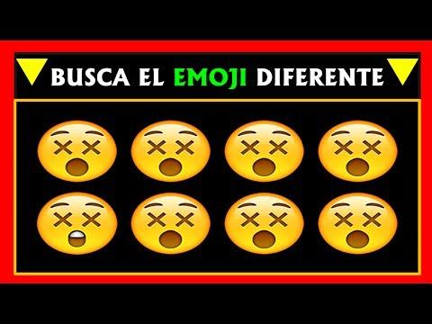 Encuentra El Emoji Diferente De Las Fotos En 30 Segundos