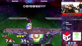 Dismantle - Axe (Pikachu/Falco/Marth) vs. Westballz (Falco/Fox) Melee Grand Finals