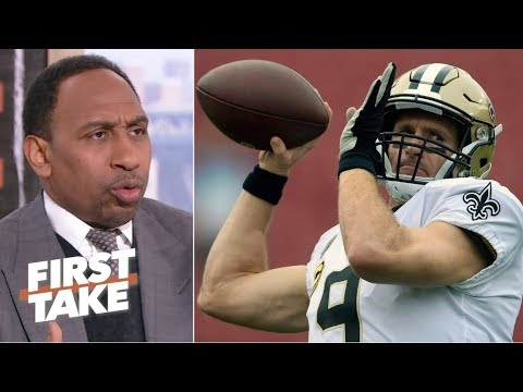 Stephen A. predicts the Saints to win a nail-biter over Rams in NFC Championship | First Take