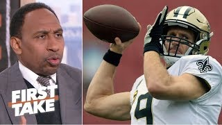 Stephen A predicts the Saints to win a nail-biter over Rams in NFC Championship  First Take