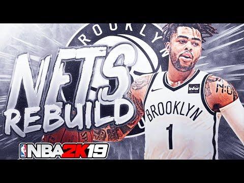 SUPRISE STAR? BROOKLYN NETS REBUILD! NBA 2K19