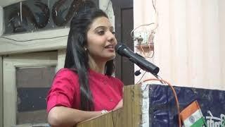 UPSC Topper Srushti Deshmukh(AIR 5th Rank CSE 18),Interaction In Maulana Azad Central Library,Bhopal